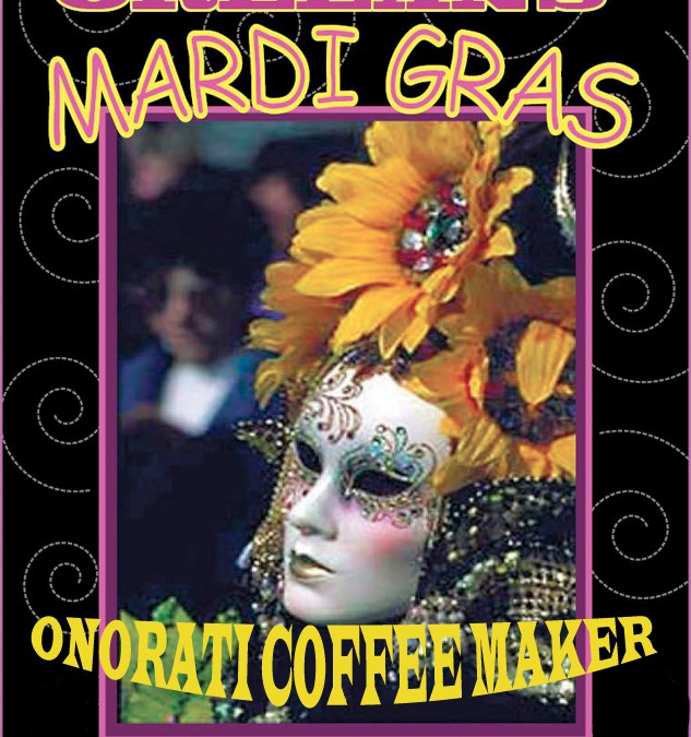 ONORATI COFFEE MAKER BLUES BAND – Mardi Gras Party