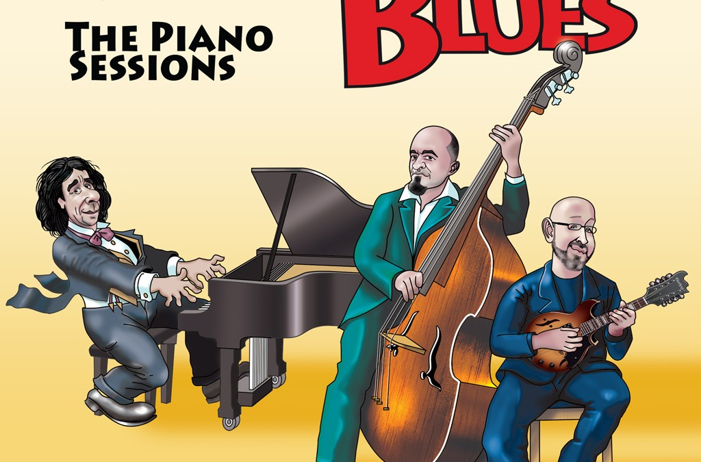 MANDOLIN BLUES QUARTET- The Piano Sessions