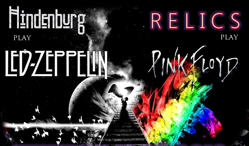 HINDENBURG play Led Zeppelin – RELICS play Pink Floyd
