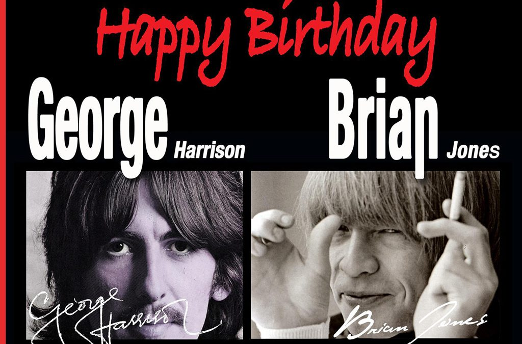 RIDING SIXTIES – Beatles vs Stones – Happy B'day Brian & George