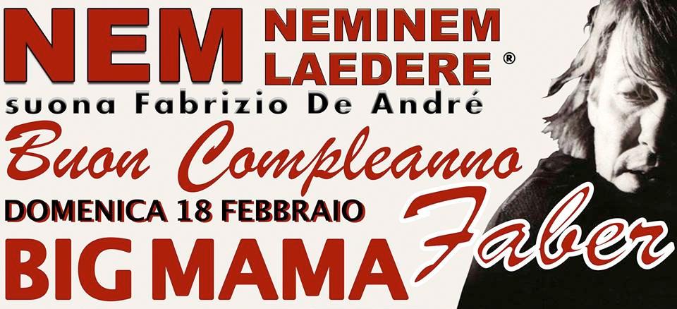 NEMINEM LAEDERE canta Fabrizio De André