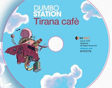 "DUMBO STATION presentano l'album ""Tirana Café"""