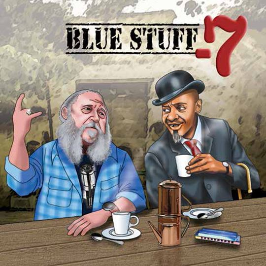 "BLUE STUFF Blues Band – presentano l'album ""-7"""